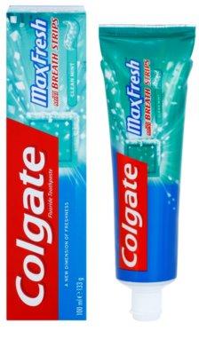 Colgate Max Fresh Clean Mint dentífrico para hálito fresco 1