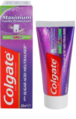 Colgate Maximum Cavity Protection Plus Sugar Acid Neutraliser зубна паста для дітей 1