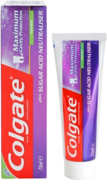 Colgate Maximum Cavity Protection Plus Sugar Acid Neutraliser dentífrico 1