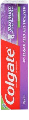 Colgate Maximum Cavity Protection Plus Sugar Acid Neutraliser Zahnpasta 2