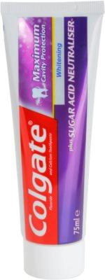 Colgate Maximum Cavity Protection Plus Sugar Acid Neutraliser dentífrico branqueador