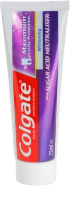 Colgate Maximum Cavity Protection Plus Sugar Acid Neutraliser відбілююча зубна паста