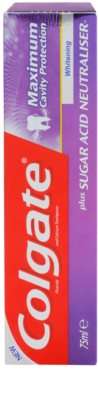 Colgate Maximum Cavity Protection Plus Sugar Acid Neutraliser pasta de dinti pentru albire 2