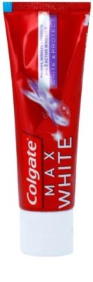Colgate Max White White&Protect Pasta de branqueamento para restaurar e proteger o esmalte do dente