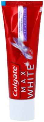 Colgate Max White White&Protect pasta de dinti cu efect de albire pentru restabilirea și protejarea smalțului dentar