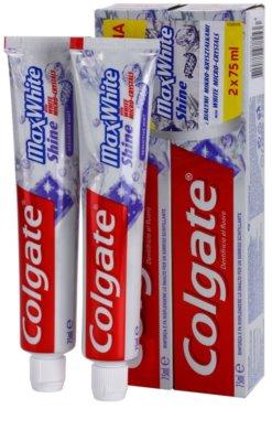 Colgate Max White Shine pasta para fortalecer el esmalte dental para una sonrisa radiante 1
