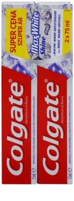 Colgate Max White Shine pasta para fortalecer el esmalte dental para una sonrisa radiante 2