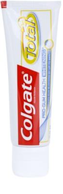Colgate Total Pro Gum Health Whitening dentífrico com efeito branqueador para dentes e gengivas saudáveis