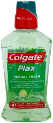 Colgate Plax Herbal Fresh ustna voda proti zobnim oblogam