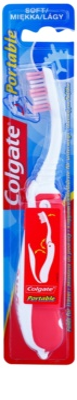 Colgate Portable cepillo de dientes plegable para viajes  suave