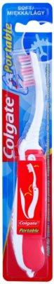 Colgate Portable zložljiva potovalna zobna ščetka soft