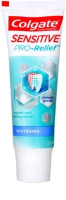 Colgate Sensitive Pro Relief + Whitening zobna pasta z belilnim učinkom za občutljive zobe