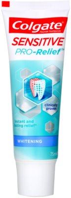Colgate Sensitive Pro Relief + Whitening паста за зъби с избелващ ефект за чувствителни зъби