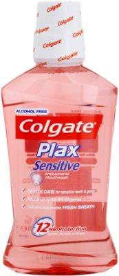 Colgate Plax Sensitive enjuague bucal antibacteriano para los dientes y encías sensibles