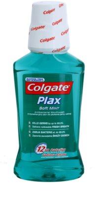 Colgate Plax Soft Mint elixir antibacteriano