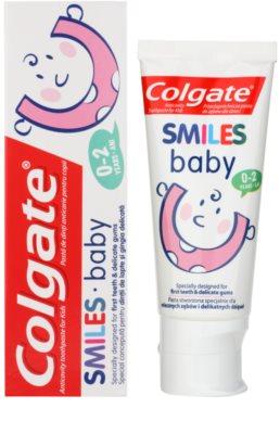 Colgate Smiles Baby zubní pasta pro děti 1