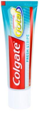 Colgate Total Fresh Stripe dentrífico para proteção completa de dentes e hálito fresco