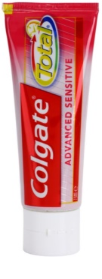 Colgate Total Advanced Sensitive fogkrém az érzékeny fogak teljes védelmére
