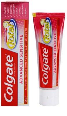 Colgate Total Advanced Sensitive pasta pro kompletní ochranu citlivých zubů 1