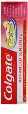 Colgate Total Advanced Sensitive Zahnpasta zum vollständigen Schutz der Zähne 2