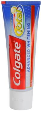Colgate Total Advanced Whitening Zahnpasta zum vollständigen Schutz der Zähne mit bleichender Wirkung 3