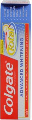 Colgate Total Advanced Whitening Zahnpasta zum vollständigen Schutz der Zähne mit bleichender Wirkung 5