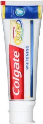 Colgate Total Advanced Whitening Zahnpasta zum vollständigen Schutz der Zähne mit bleichender Wirkung