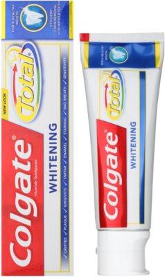 Colgate Total Advanced Whitening Zahnpasta zum vollständigen Schutz der Zähne mit bleichender Wirkung 1