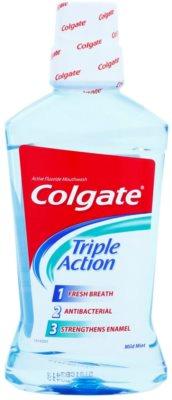 Colgate Triple Action antibakterielles Mundwasser für frischen Atem