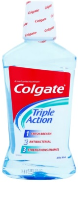 Colgate Triple Action анти-бактериална вода за уста за свеж дъх