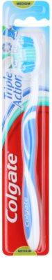 Colgate Triple Action escova de dentes medium