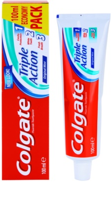 Colgate Triple Action zobna pasta 1