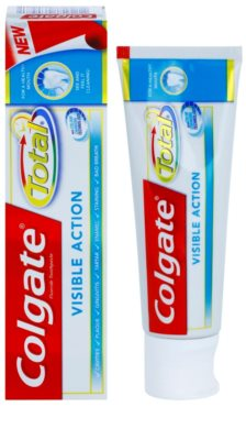 Colgate Total Visible Action Zahnpasta für den kompletten Schutz Ihrer Zähne 1