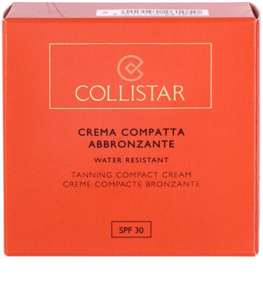Collistar Tan Without Sunshine crema con color SPF 30 5