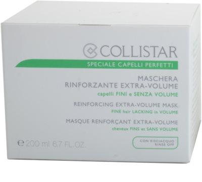 Collistar Speciale Capelli Perfetti máscara fortificante para dar volume 3