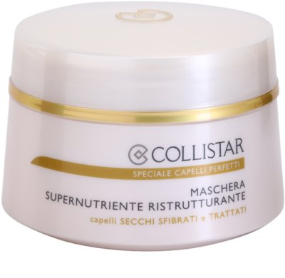 Collistar Speciale Capelli Perfetti hranilna regeneracijska maska za suhe in krhke lase