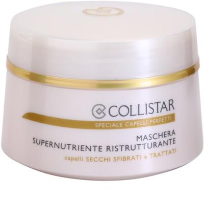 Collistar Speciale Capelli Perfetti máscara restauradora nutritiva para o cabelo seco e frágil