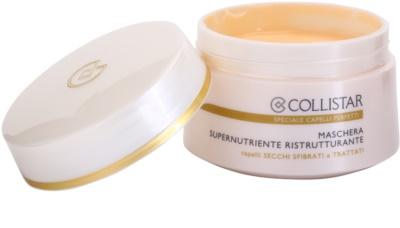 Collistar Speciale Capelli Perfetti nährende, regenerierende Maske für trockenes und zerbrechliches Haar 1