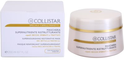 Collistar Speciale Capelli Perfetti nährende, regenerierende Maske für trockenes und zerbrechliches Haar 3