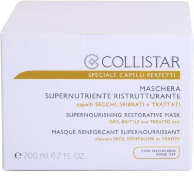 Collistar Speciale Capelli Perfetti nährende, regenerierende Maske für trockenes und zerbrechliches Haar 4