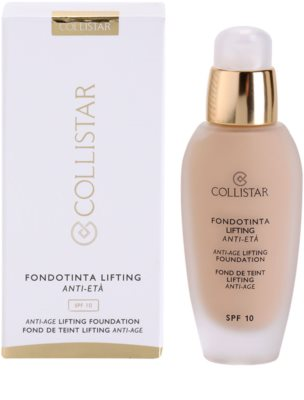 Collistar Foundation Anti-Age Lifting baza de machiaj cu efect de lifting SPF 10 2