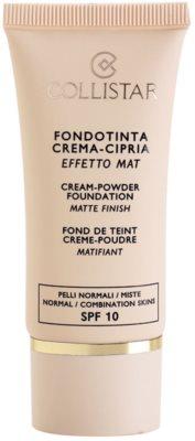 Collistar Foundation Cream-Powder Creme - Make-up SPF 10