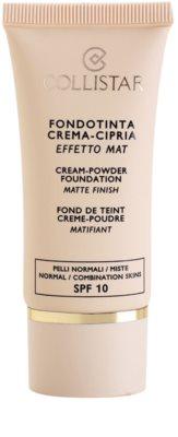 Collistar Foundation Cream-Powder kremasti tekoči puder SPF 10