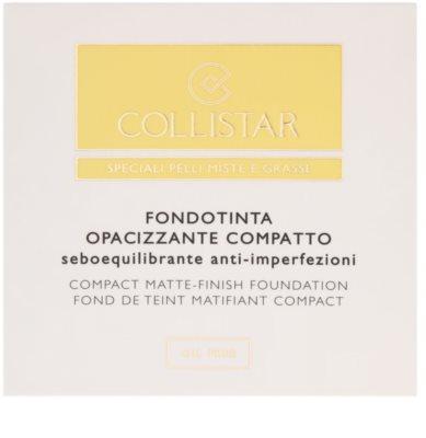 Collistar Foundation Compact kompakt mattosító make-up 4