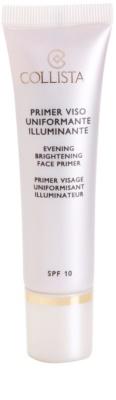 Collistar Make-up Base Brightening Primer alap bázis az élénk bőrért