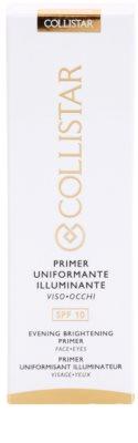 Collistar Make-up Base Brightening Primer alap bázis az élénk bőrért 3