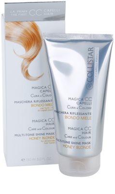 Collistar Magica CC mascarilla nutritiva con color  para cabello rubio 1