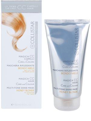 Collistar Magica CC máscara nutritiva com cor para todos os tipos de cabelo loiro 2