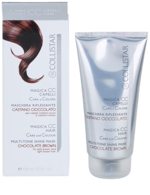 Collistar Magica CC поживна тонуюча маска для темно-русявого та світло-русявого волосся 2
