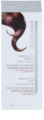 Collistar Magica CC tápláló tonizáló maszk a sötétbarna és világosbarna hajra 3